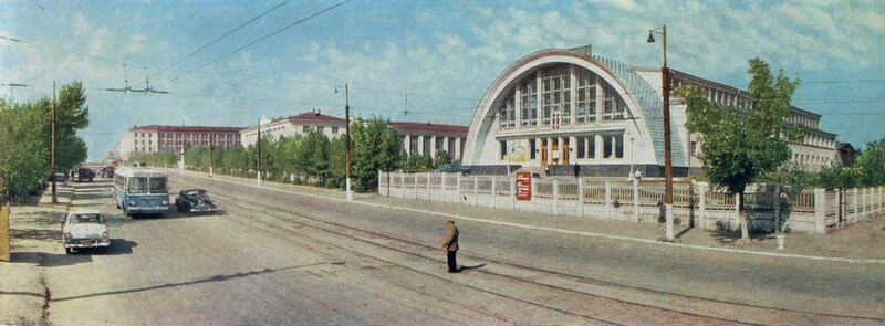 Бассейн «Саратов», 1967 год