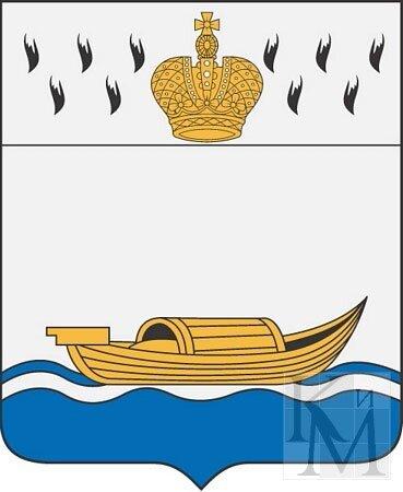 лодка на гербе вышнего волочка