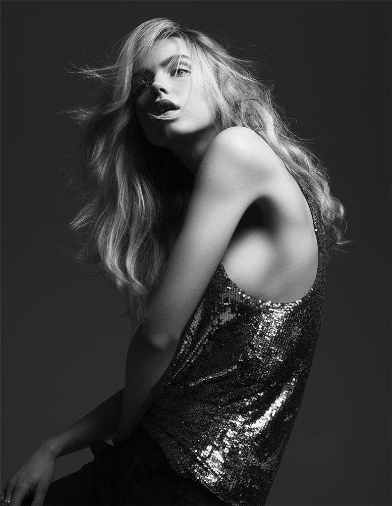 модель Аурелия Гливски / Aurelia Gliwski, фотограф Jeff Stephens