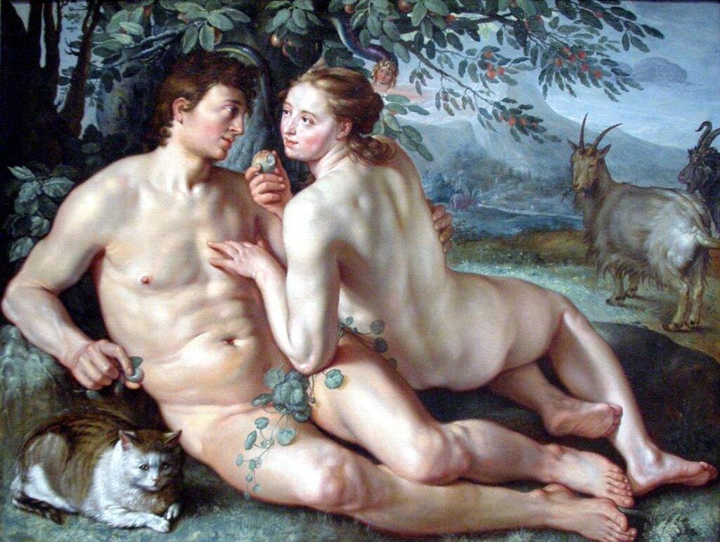 Гольциус, Хендрик,  Падение человека, 1616г http://veniamin1.livejournal.com/profile