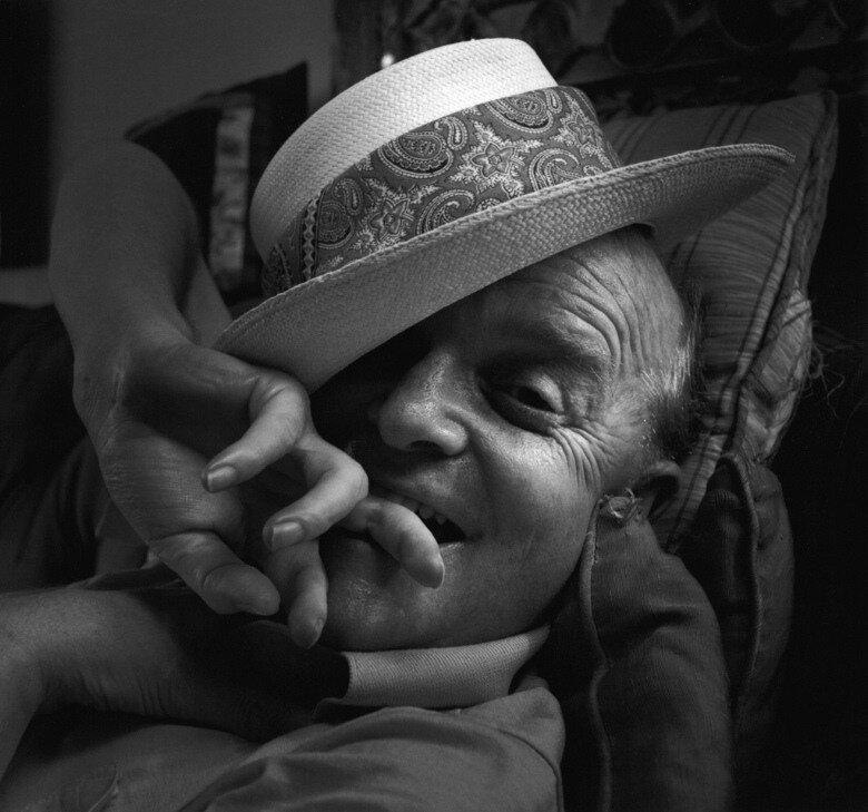 Arnold  Newman Truman Capote, New York,  1977