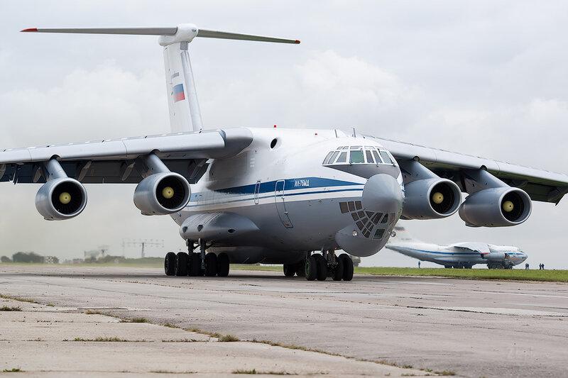 Ильюшин Ил-76МД (RF-78807) ВВС России D802408