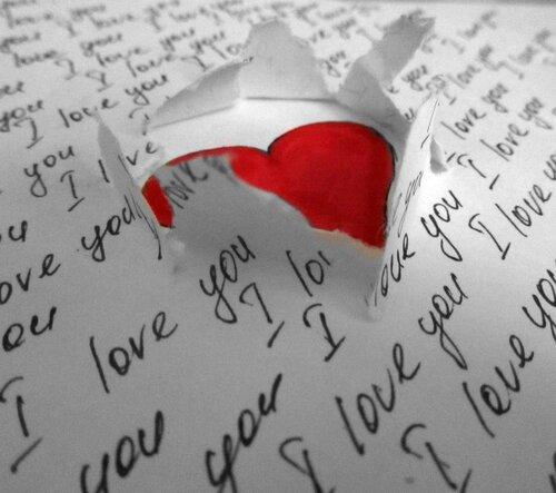 письмо с любовью:*