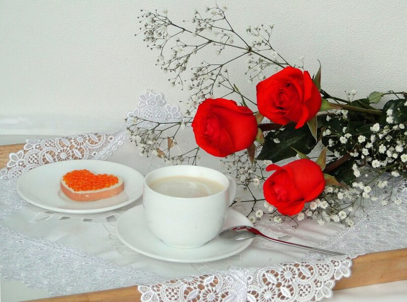 Нежные романтичные картинки с добрым утром