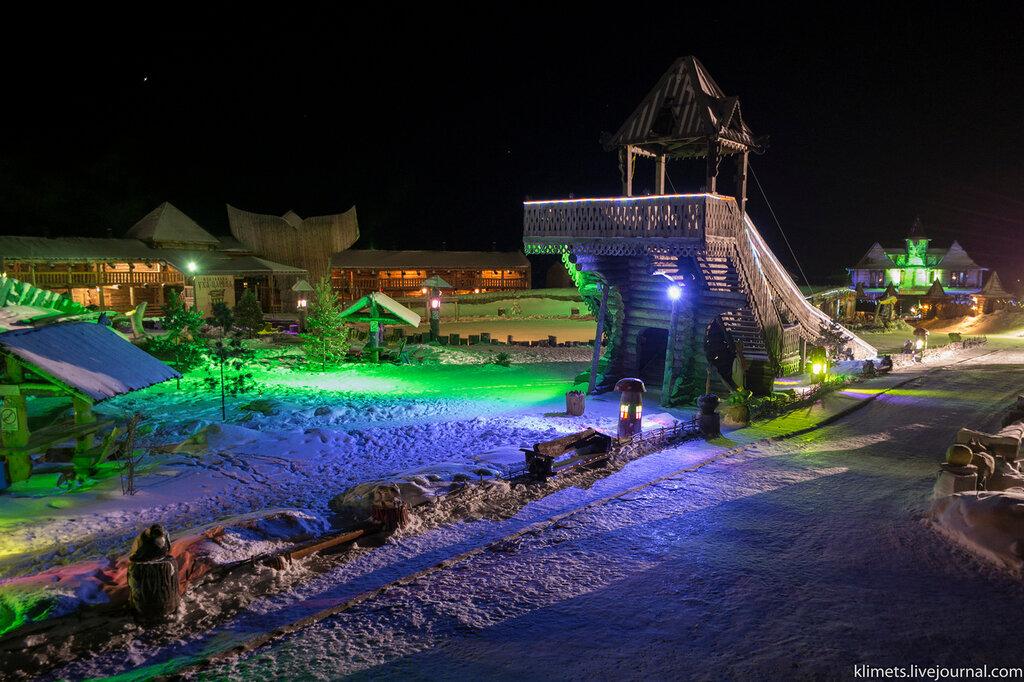 Абалак. Туристический комплекс и его окрестности.