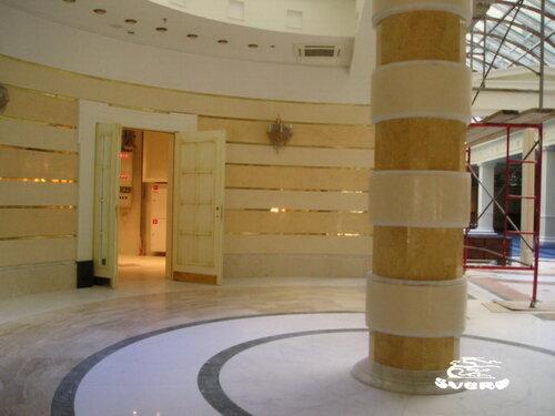 декоративная штукатурка колонн и стен