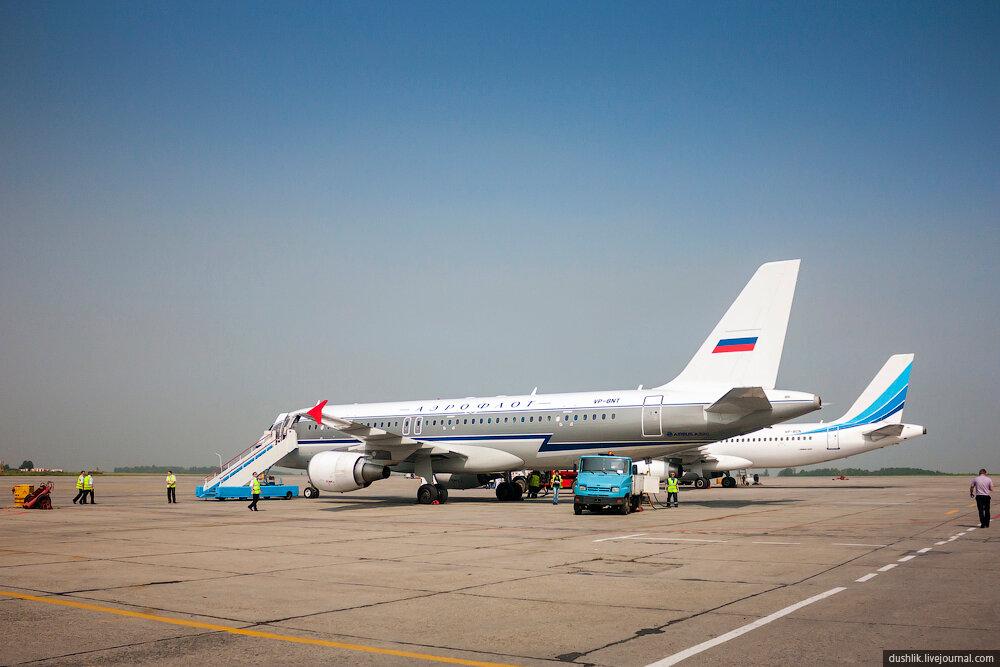 Аэропорт «Челябинск». Неопубликованное