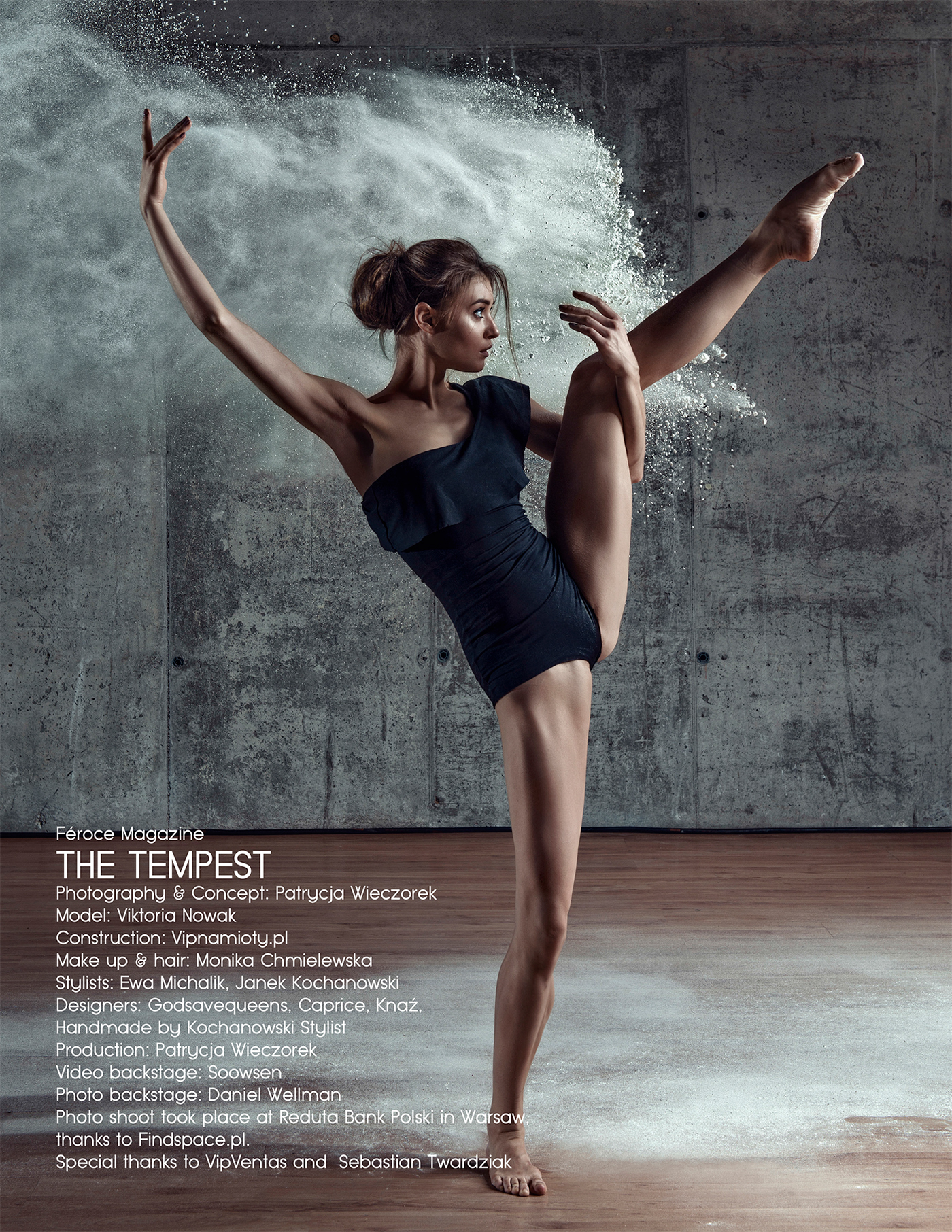 Виктория Новак - Балерина / фото Ева Михалик