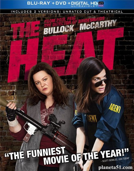 Копы в юбках / The Heat (2013/BDRip/HDRip)