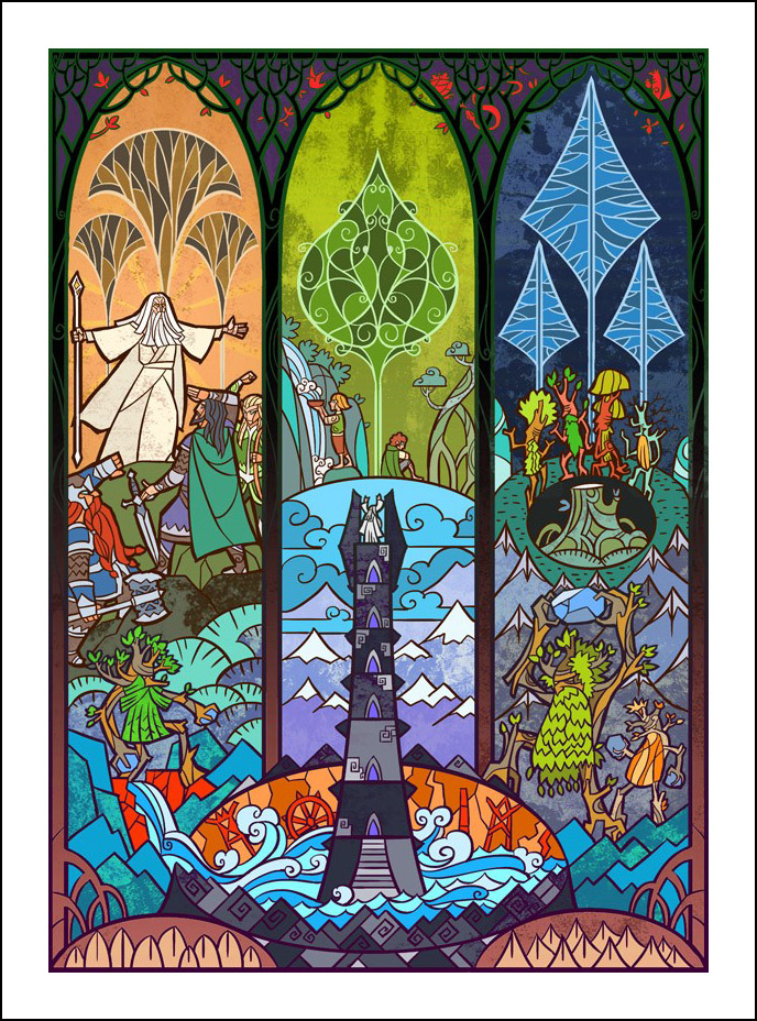 Jian Guo, Lord of the Rings