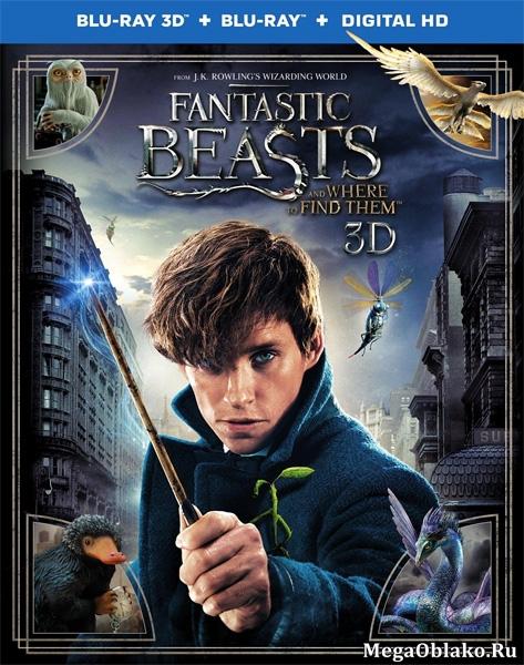 Фантастические твари и где они обитают / Fantastic Beasts and Where to Find Them (2016/BD-Remux/BDRip/HDRip/3D)