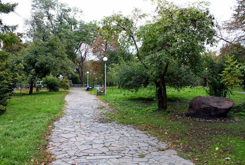 Парковая дорожка Владимирской горки