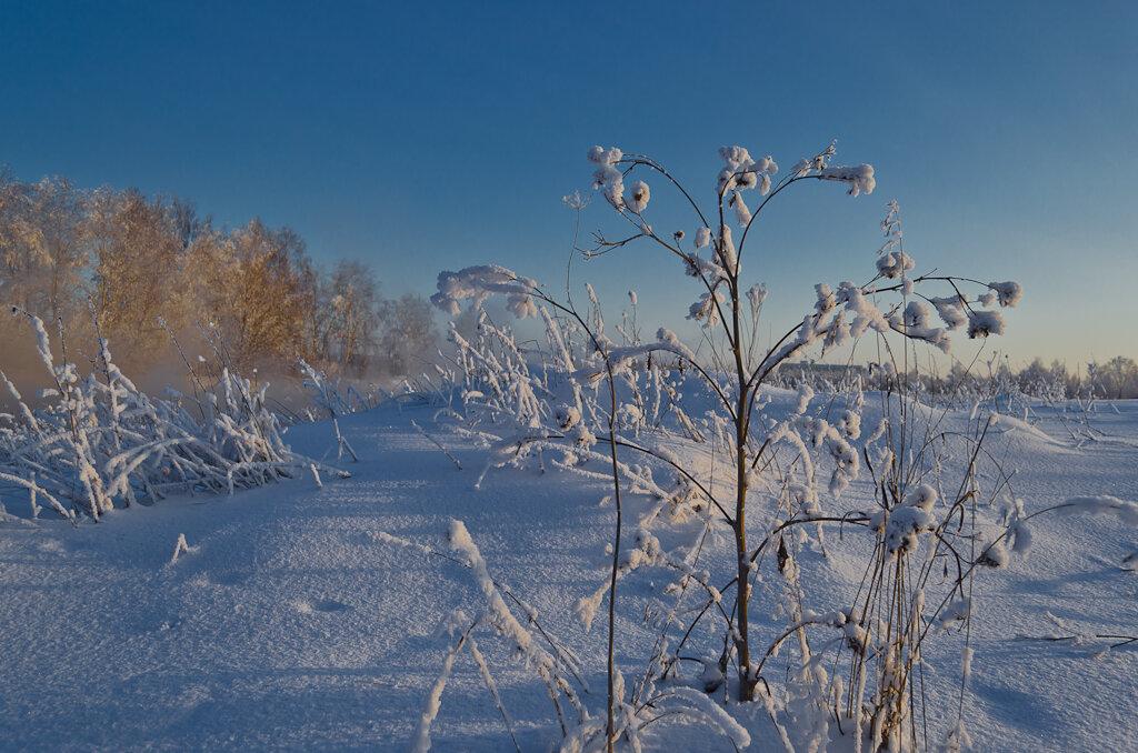 Зимний пейзаж. Можно ли с Никон Д5100 КИТ 18-55 получить красивые фотографии