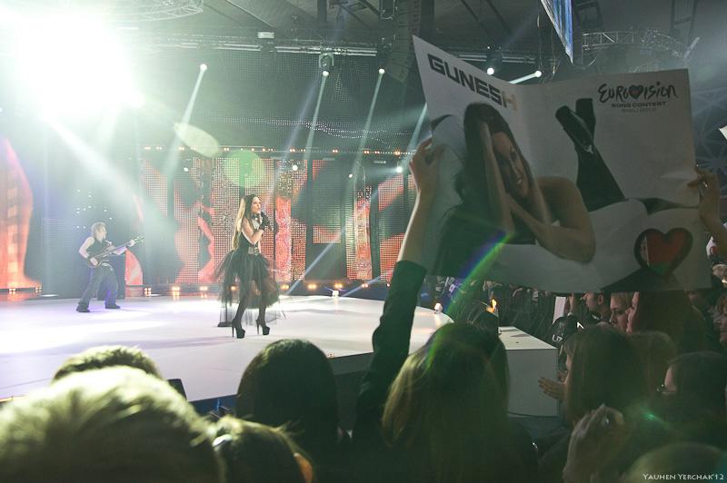 ЕвроФест, Евровидение, EuroFest, Eurovision, photo, фото, Гюнешь, Gunesh