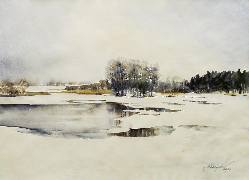 Александр Бобрышев, поэт пейзажа