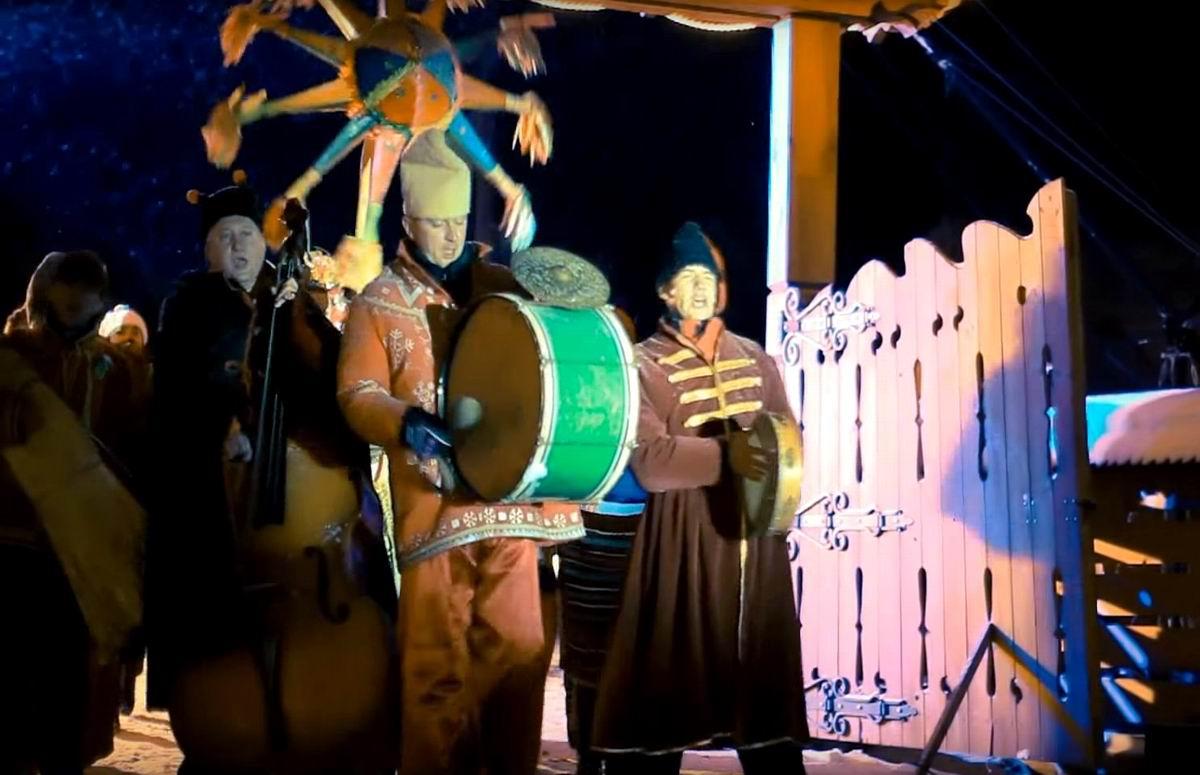 Давай, давай по маленькой!: Деревенские Колядки