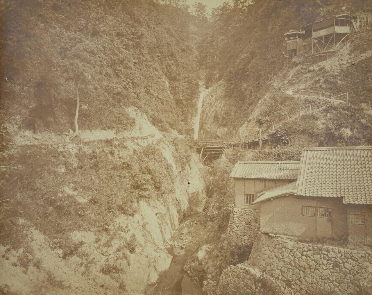 Водопад, Кобе