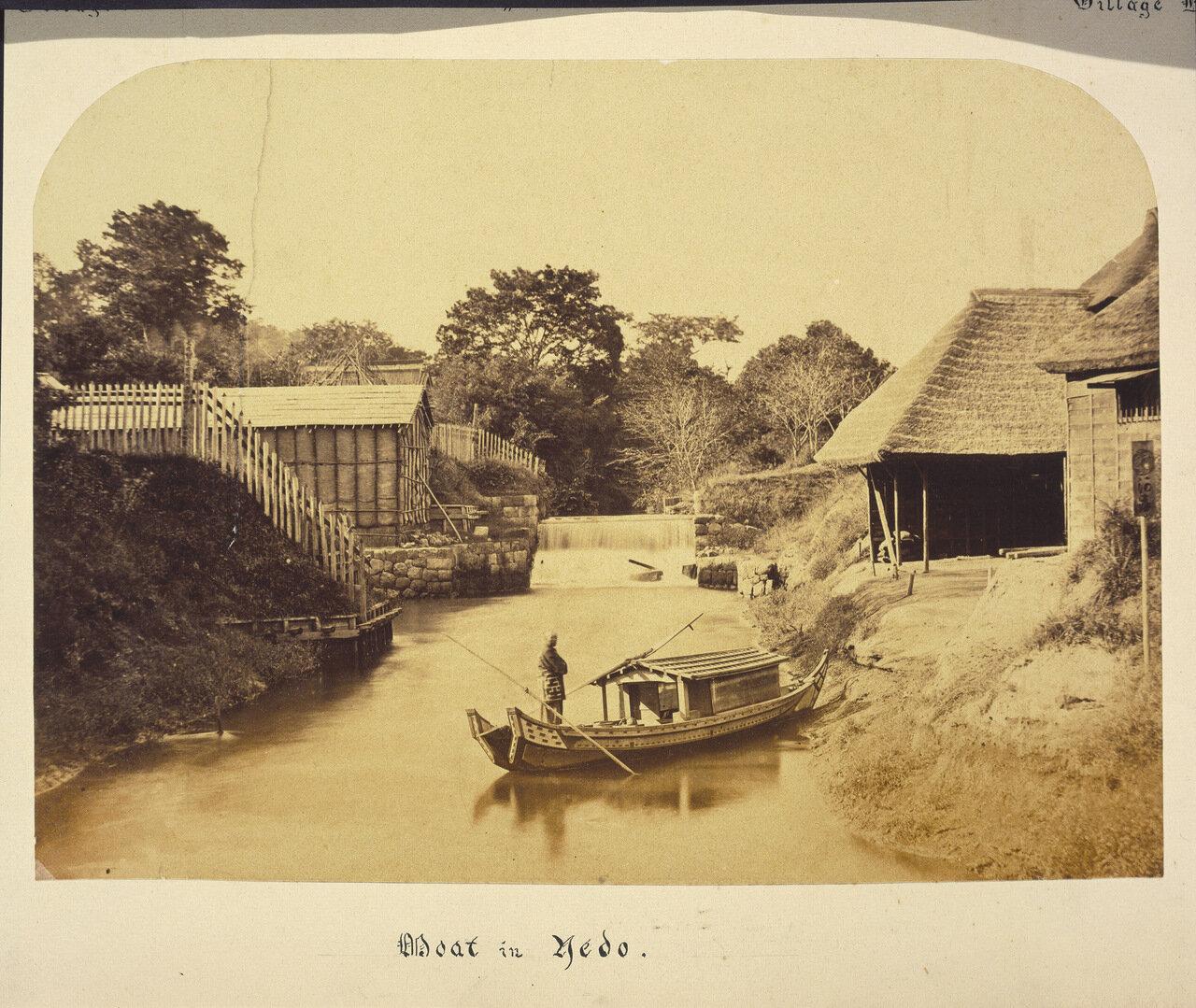 Лодка в Эдо