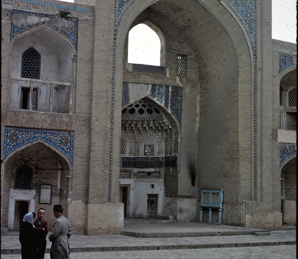 delapidated Medressah 1966