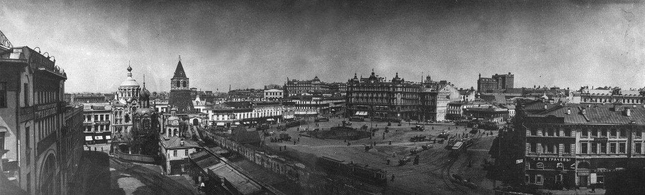 Вид на Лубянскую площадь.