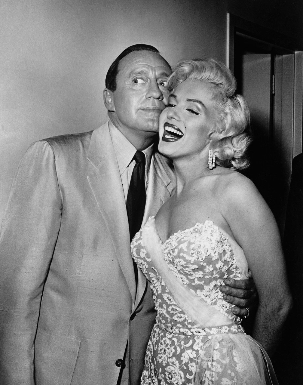 Marilyn Monroe And Jack Benny
