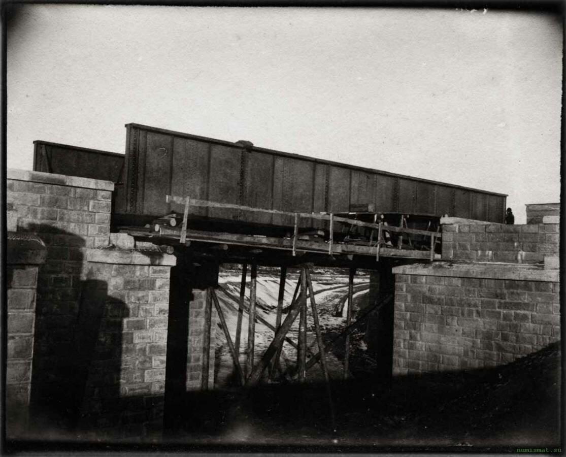 Строительство мостового переезда