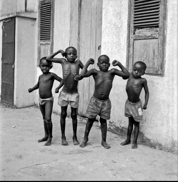 1960. Маленькие спортсмены Киншасы