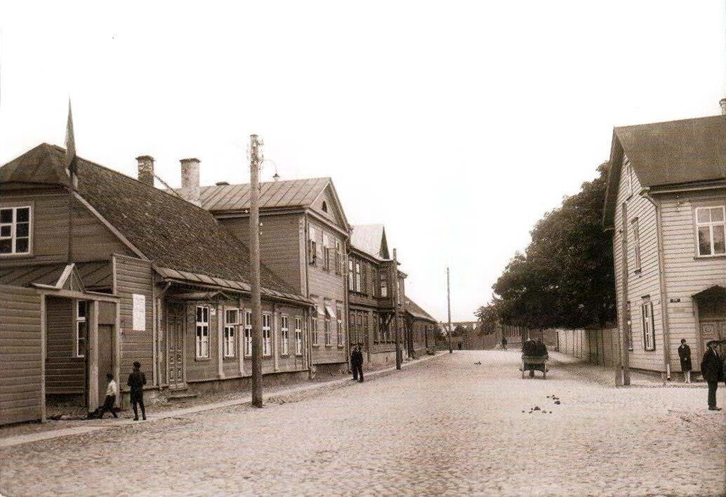 Вокзальная улица.1911