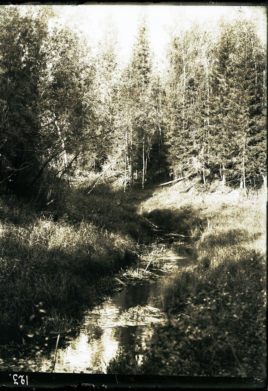 Речка возле юрты Соровых
