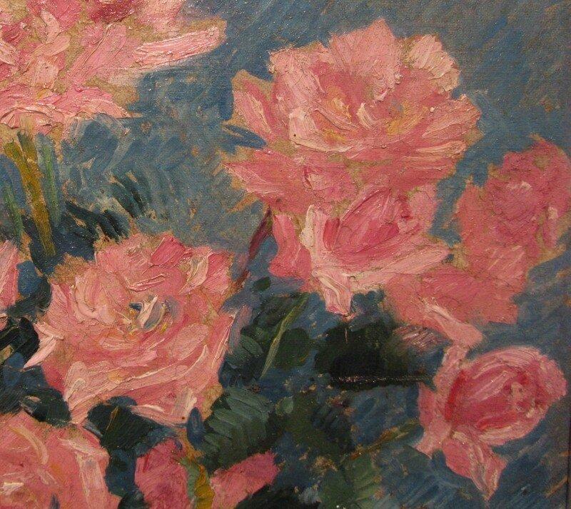 Коровин. Розы. 1920-е годы