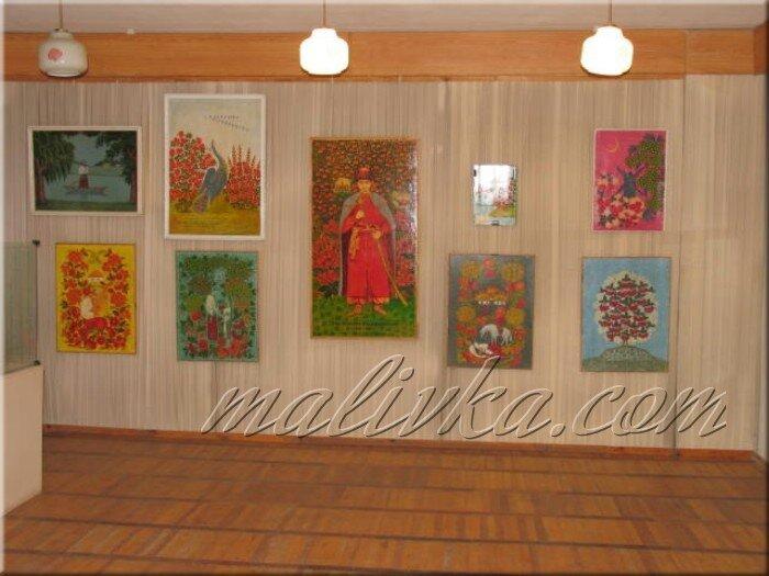 Выставочный зал петриковская роспись