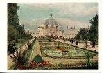 Открытка 1955 год. Павильон цветоводства и озеленения.