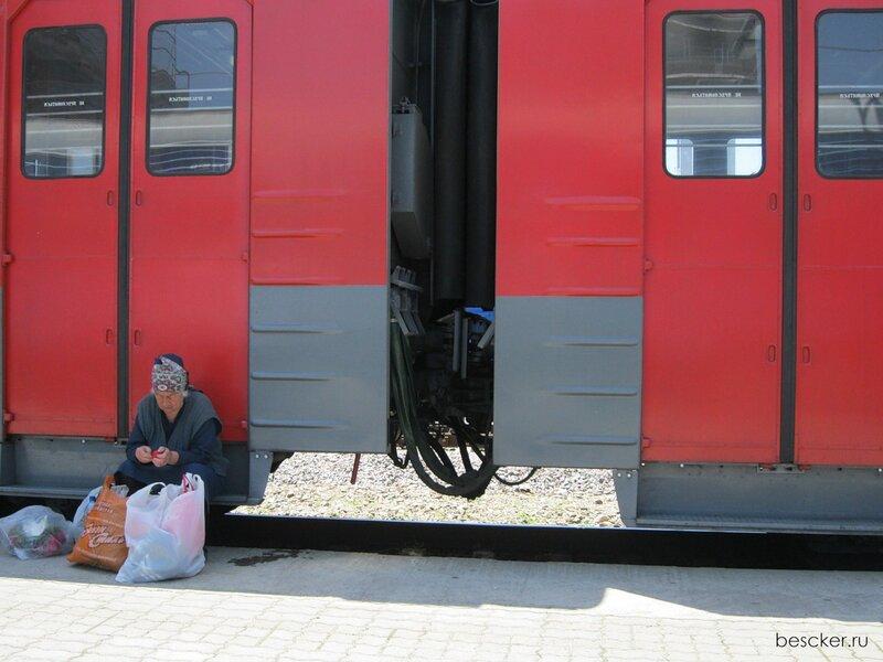 Адлер. Вокзал