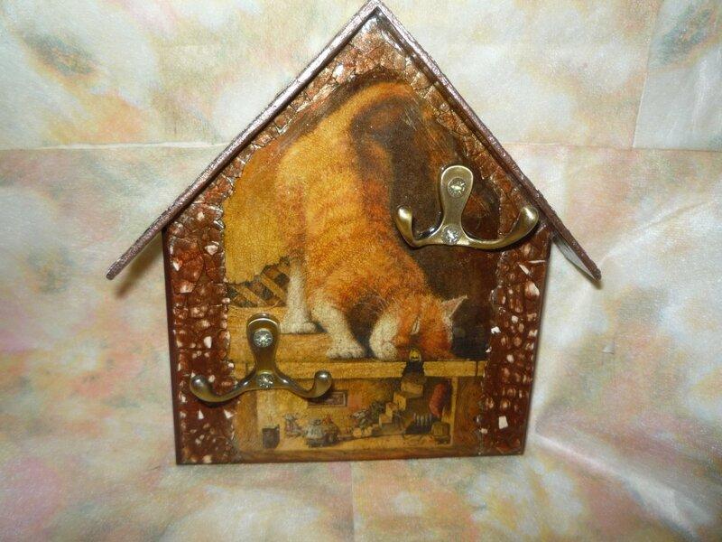 Ключница Рыжий кот