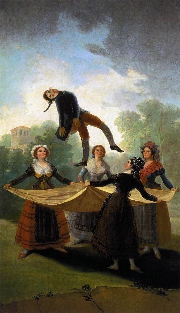 Гойя. Паяц. Кукла.1791-1792г.г.