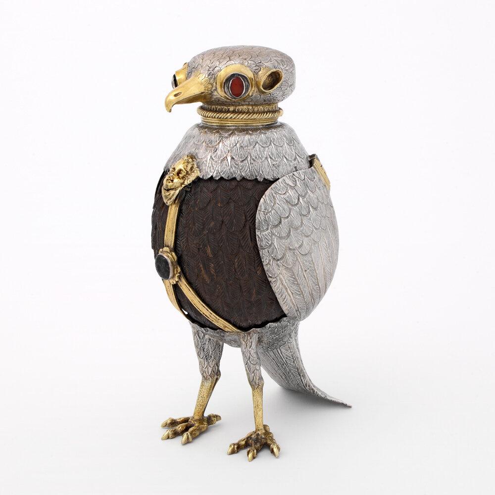 Bird of prey cup, Germany, around 1600