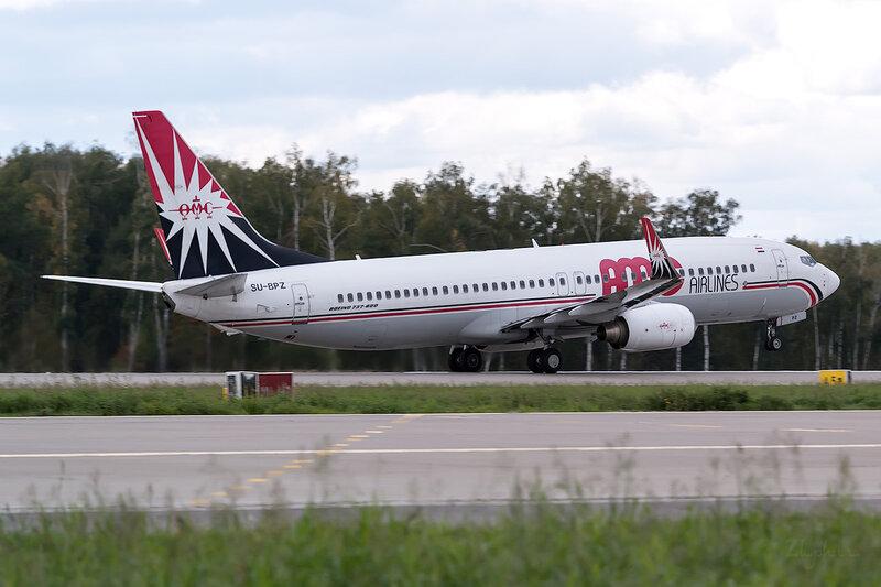 Boeing 737-86N (SU-BPZ) AMC Airlines D802870