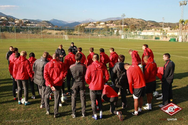 Первая тренировка «Спартака» в Марбелье (Фото)