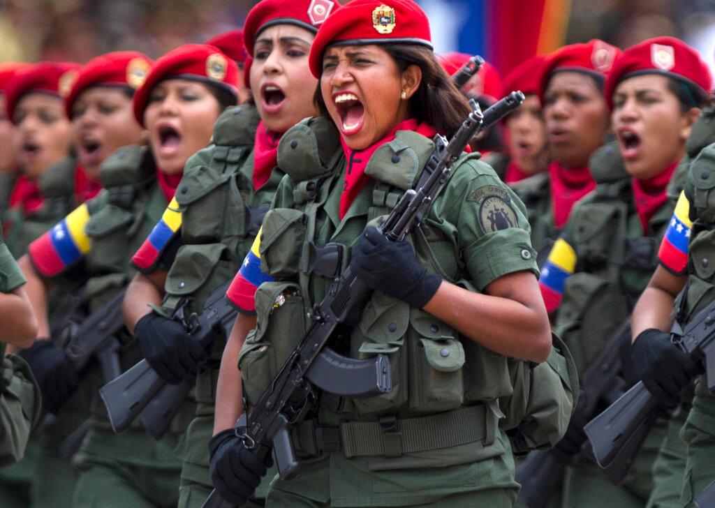 APTOPIX Venezuela Coup Anniversary
