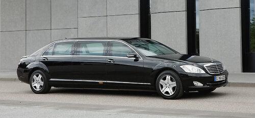 Mercedes-Benz выпустит Pullman
