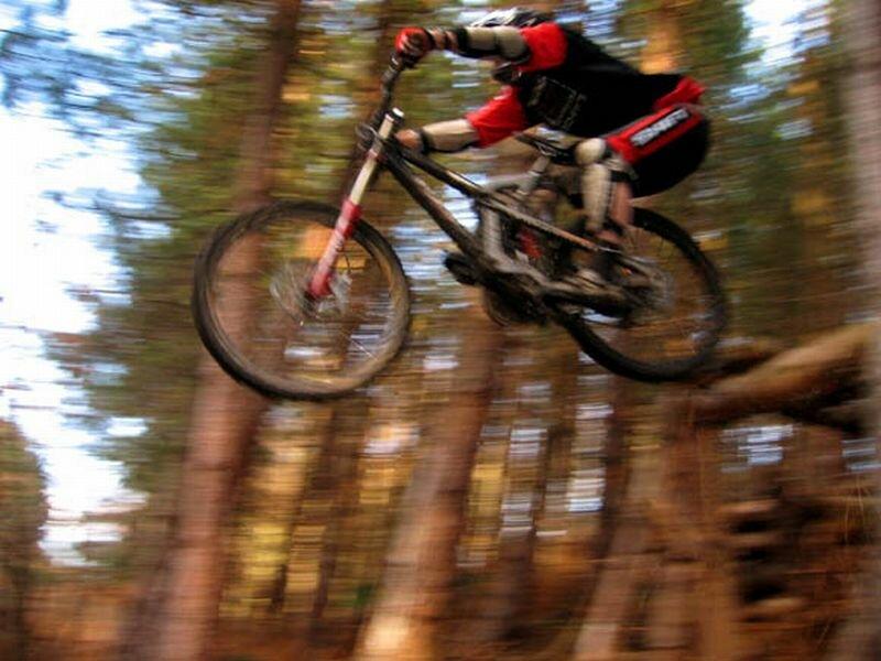 Экстрим на горном велосипеде (01.10.2013)