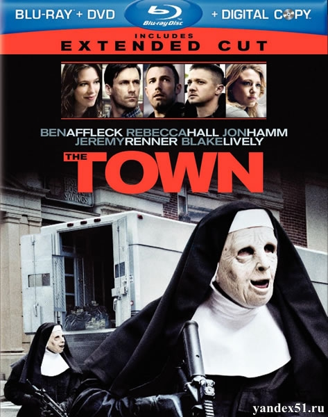 Город воров / The Town (2010/BDRip/HDRip) + Расширенная версия