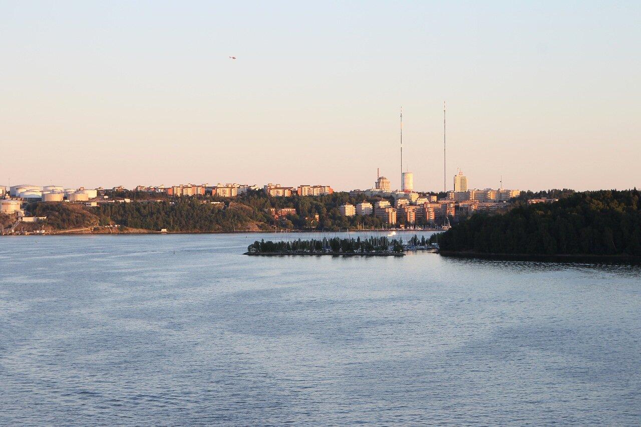 Stockholm skerries. Стокгольмские шхеры