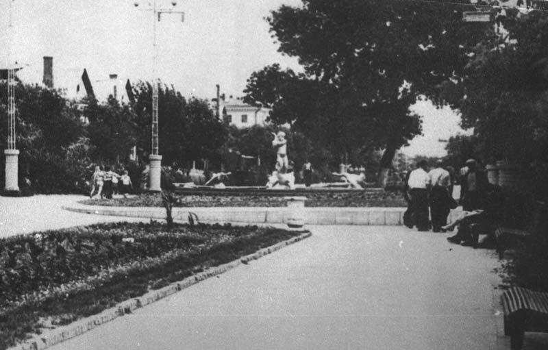 Середина бульвара, начало 60-х