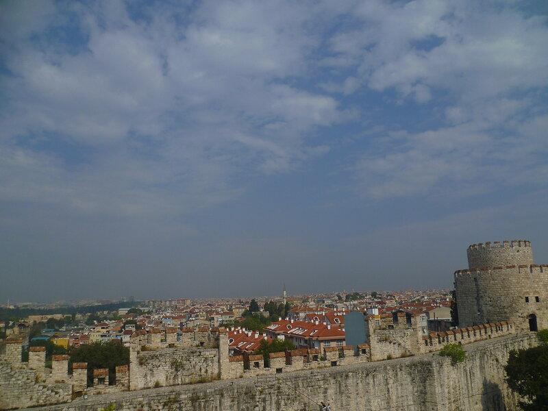 Стамбул - вид из крепости Едикуле (Istanbul - the view from the fortress Yedikule).