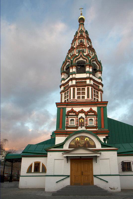 Церковь Николая Чудотворца в Хамовниках.