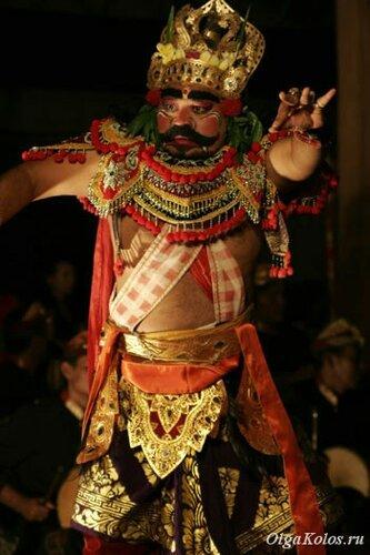 Балийский танец Баронг