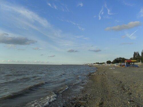 У моря, август...