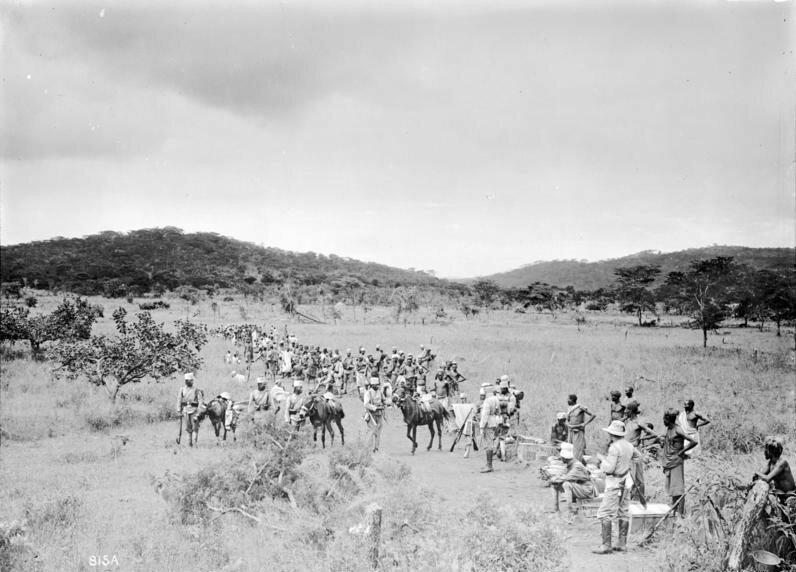 Deutsch-Ostafrika, Schutztruppe