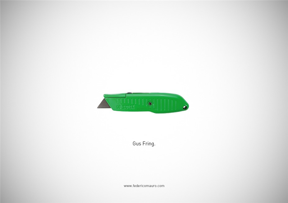 Знаменитые клинки, ножи и тесаки культовых персонажей / Famous Blades by Federico Mauro - Gus Fring